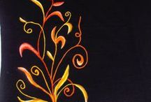 Camisetas Pintadas / Trabajos varios de pintura textil