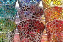 Malování na sklo a porcelán / malování na sklo