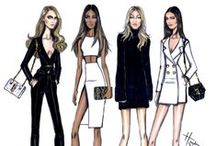 Fashion Illustrations / Express yourself and have your concepts seen between the lines