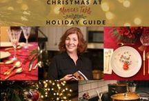 Christmas at Monica's Table / Christmas At Monica's Table - Love the Holidays Again   Recipes, Tips and Inspiration http://courses.monicastable.com/salespage/
