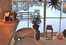Talvi sisustusideat <3 / Itseäni ja toivottavasti muitakin inspiroivia talvisia sisustuskuvia.
