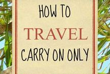 Packing hacks and Tips / Lists, tips, hacks, ideas, essentials, checklists, guides, carry on and everything which you require to travel like a pro