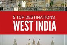 Things to do in West India / The pins specifically deal with places to visit, eat and other related tips for travelling around Western India