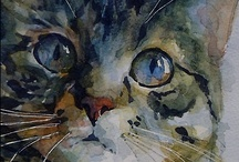 Cat Art / Art appreciation for the feline form. / by Ms. Fortune Cookie