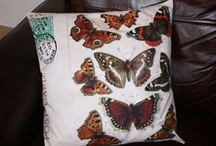 Crafts on Folksy  or Etsy / Craft I have made with my own fair hands. Cushions, pillow boxes,jewellery, altered art, art prints all made in the UK