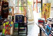Artist's Studios / by Susie Quillin