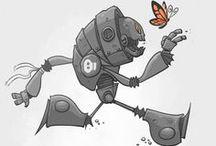 Robot Art / Robots