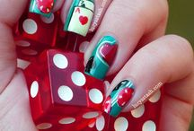 Las Vegas Nail Art / Beautiful nails for your night on the town in Las Vegas!