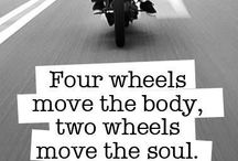 Two wheels move the soul / Motorcycle , Choppers, cafe racers, Motorcycles bike, cafe racer, chopper, bikes, sport bike, motocross, enduro / by Andrea Lorini