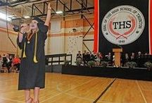 Graduations / High school and college graduation ceremonies from Greater Taunton.