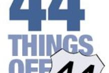 44 Things off Route 44 / Interesting things to see and do off Route 44, in the Greater Taunton area.