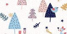 Noël Inspiration / Inspiration Noël, DIY Noël, Calendrier avent, Pattern Noël, Christmas pattern, Graphisme de noël, Père Noël, Cadeaux, décoration Noël ...
