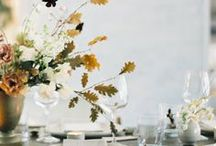floral and table