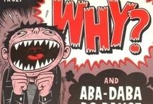 Gaijin Cartoon Covers / Portadas dibujadas de Bandas Extranjeras
