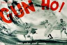 Surfers / Portadas de discos, revistas, camisetas, logos, cine...la tabla es la protagonista