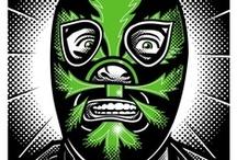 Comics & Masks / Viva del Santo!!!