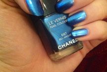 My Chanel story / I admit it, I have an addiction to Chanel nailpolish. Here's my proof