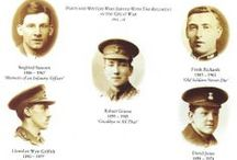 War Poets and Authors of the RWF