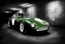 DB4GTZ - SCALFARO MOOD BOARD - DB4GTZ 1960 SPADA WATCH EDITION / Images of the Aston Martin DB4GTZ sports car which was designed by Ercole Spada in 1960 and inspired the Scalfaro DB4GTZ 1960 Spada Watch Edition
