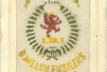 RWF Silks / These patches were an alternative to paper cigarette cards and were given away in packets of cigarettes.