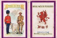 Royal Welch Fusilier Cigarrette Cards