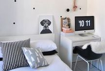 Kids space inspiration. / Design ideas + inspiration for your kids space.