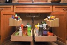 Interior Storage Solutions / Redefining space in your cabinetry