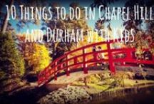 Be Adventurous / Walking/Biking/Hiking Trails and Parks in The Triangle area of North Carolina