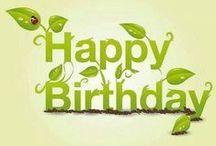 Happy Birthday / Happy Birthday Cards