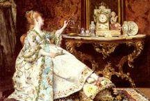 Coffee or tea? / Coffee, tea... and delicious chocolate. / by Diana de Méridor