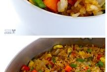 Asian Inspired Food