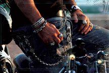 Mens jewelry / Rock style mens jewelry
