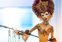 Анна Гущина и её кукольный мир