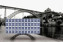 Arc | Sideboard / What nature separated, man wanted to unite. Two margins and a bridge that led them talking. 125 years were enough for the D. Luiz I bridge became one of the most iconic places of Porto. Marco Sousa designed for Bat eye ® a singular piece worked by the hand of the artisan, with an interior carefully designed and finished in satin wood; the metal joining the margins is now the support base. Finally, we leave aside the monochrome and dress up the piece with hand painted tiles.