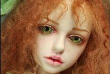 МЕЛАНХОЛИЧНЫЕ КРАСАВИЦЫ ОТ DALE ZENTNER / о куклах, о красоте, нежности, грусти и мечте...