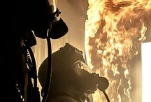 Firefighters / As pro FF myself couldn't help doing this Firefighter stuff board
