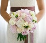 REAL WED peonies elegant romantic