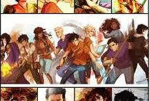 Percy Jackson and the Olympians + Heroes of Olympus