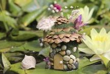 Fairy garden designed by me / Fairy garden