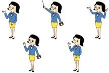 業界統一キャラクター「くみちゃん」 / 信用組合についてのご紹介です。