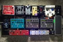 Pedalboards / This board if filled with the greatest pedalboards found on pinterest and on the web.