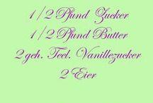 Leckere Rezepte / Rezepte - Kuchen - Kekse - u.v.m. | www.FeenArt.de | Claudia Böttcher