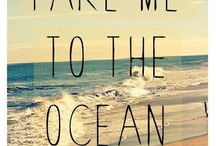 Take me to the ocean ♥ / Ocean breeze .. Ocean smell.... I feel them each and every time I pin a pic! / by ALINE D