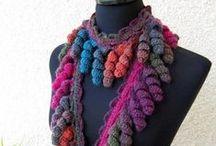 Bufandas y gorros Crochet