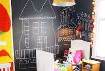 Chalkboardwall / Ściany jak tablice