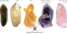 Crystals & minerals. / Crystal informations.