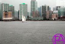 New York City - NYC / New York - NYC - New York City FeenArt, New York, New York City, NYC,  Rock of the Top, Central Park, Manhattan, Riverside, River, Fluß, View, Bridge, Brücke, Hudson River, East River  | www.FeenArt.de | Claudia Böttcher