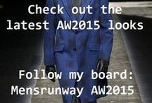 Mens runway SS15