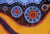 Aboriginal schilderijen
