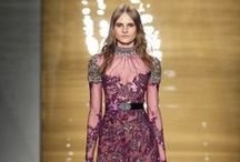 Fall 2015 / I went to my secret place...my world...my imagination...everything was waiting for me to unveiled. I found her; a bohemian gypsy. Was she a dream? #ReemAcra Fall 2015 Ready to Wear